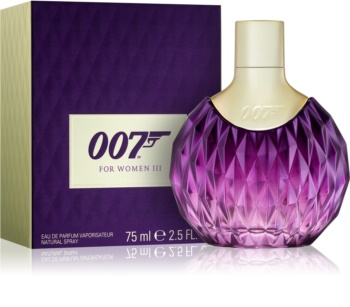 James Bond 007 James Bond 007 for Women III Eau de Parfum voor Vrouwen  75 ml