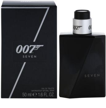 James Bond 007 Seven eau de toilette para homens 50 ml