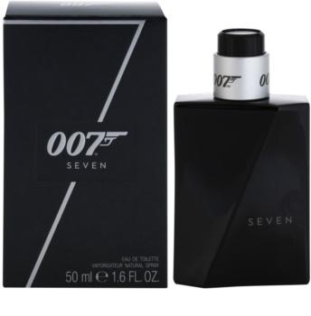 James Bond 007 Seven toaletná voda pre mužov 50 ml