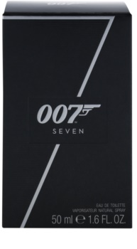 James Bond 007 Seven Eau de Toilette für Herren 50 ml