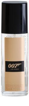 James Bond 007 James Bond 007 for Women desodorizante vaporizador para mulheres 75 ml