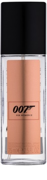 James Bond 007 For Women II desodorizante vaporizador para mulheres 75 ml