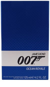 James Bond 007 Ocean Royale Eau de Toilette voor Mannen 125 ml