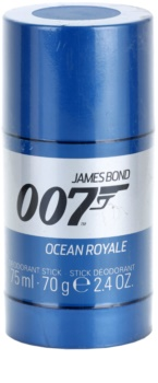 James Bond 007 Ocean Royale desodorante en barra para hombre 75 ml