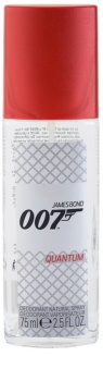 James Bond 007 Quantum desodorizante vaporizador para homens 75 ml