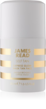 James Read Self Tan samoopaľovacia pleťová maska s okamžitým účinkom