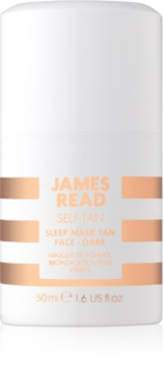 James Read Self Tan masque de nuit auto-bronzant visage