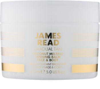 James Read Gradual Tan creme autobronzeador para corpo e rosto com óleo de coco
