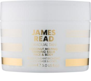 James Read Gradual Tan Zelfbruinende Crème voor Gezicht en Lichaam  met Kokosolie