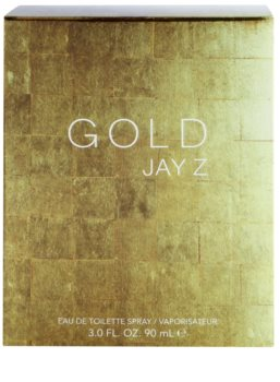 Jay Z Gold Eau de Toilette for Men 90 ml
