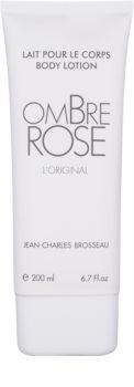 Jean Charles Brosseau Ombre Rose tělové mléko pro ženy 200 ml