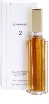 Jean-Louis Scherrer Scherrer 2 eau de toilette pour femme 100 ml