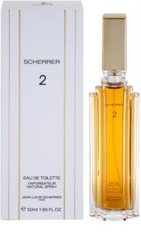 Jean-Louis Scherrer Scherrer 2 eau de toilette pour femme 50 ml