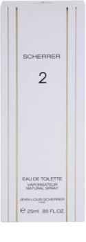 Jean-Louis Scherrer  Scherrer 2 Eau de Toilette für Damen 25 ml