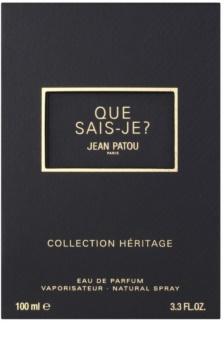 Jean Patou Que Sais-Je Eau de Toilette voor Vrouwen  100 ml