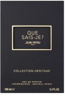 Jean Patou Que Sais-Je toaletní voda pro ženy 100 ml