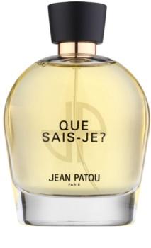 Jean Patou Que Sais-Je Eau de Toilette für Damen 100 ml
