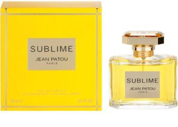 Jean Patou Sublime eau de parfum pour femme