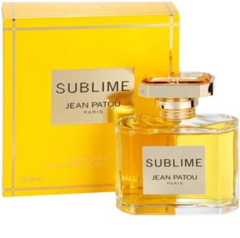 Jean Patou Sublime eau de parfum pour femme 75 ml