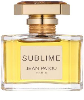Jean Patou Sublime eau de toilette pour femme 50 ml