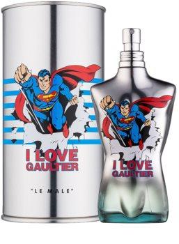 Jean Paul Gaultier Le Male Eau Fraîche  Superman eau de toilette férfiaknak 125 ml