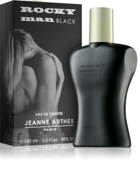 Jeanne Arthes Rocky Man Black Eau de Toilette for Men 100 ml