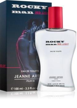 Jeanne Arthes Rocky Man Red Light Eau de Toilette for Men 100 ml