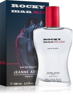 Jeanne Arthes Rocky Man Red Light toaletná voda pre mužov 100 ml