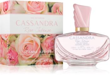 Jeanne Arthes Cassandra Rose Intense eau de parfum pour femme 100 ml