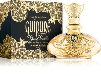 Jeanne Arthes Guipure & Silk Ylang Vanille eau de parfum nőknek 100 ml