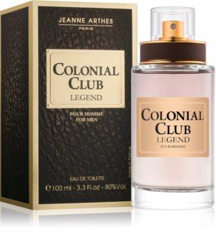 Jeanne Arthes Colonial Club Legend Eau de Toilette für Herren 100 ml