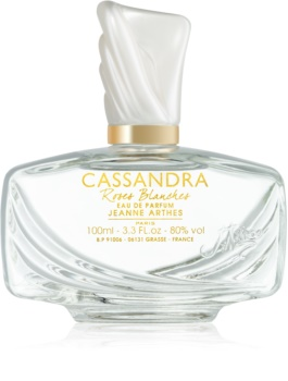 Jeanne Arthes Cassandra Roses Blanches Eau de Parfum for Women 100 ml