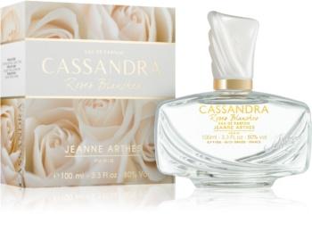 Jeanne Arthes Cassandra Roses Blanches Eau de Parfum voor Vrouwen  100 ml