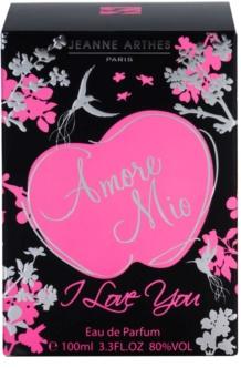 Jeanne Arthes Amore Mio I Love You Eau de Parfum Damen 100 ml