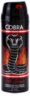 Jeanne Arthes Cobra Hot Game Deo Spray for Men 200 ml