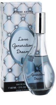 Jeanne Arthes Love Generation Dream Eau de Parfum voor Vrouwen  60 ml