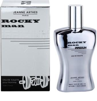 Jeanne Arthes Rocky Man Irridium eau de toilette pour homme 100 ml