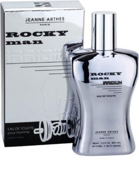 Jeanne Arthes Rocky Man Irridium Eau de Toilette para homens 100 ml