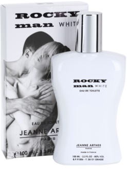 Jeanne Arthes Rocky Man White Eau de Toilette for Men 100 ml