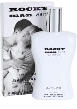 Jeanne Arthes Rocky Man White eau de toilette pentru barbati 100 ml