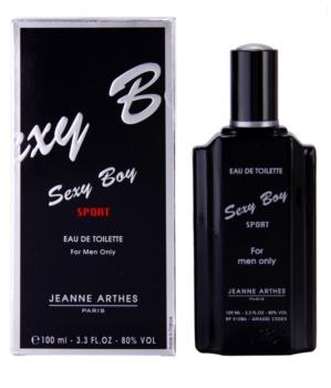 Jeanne Arthes Sexy Boy Sport Eau de Toilette voor Mannen 100 ml