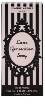 Jeanne Arthes Love Generation Sexy Eau de Parfum für Damen 60 ml