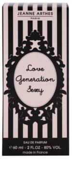 Jeanne Arthes Love Generation Sexy eau de parfum pentru femei 60 ml