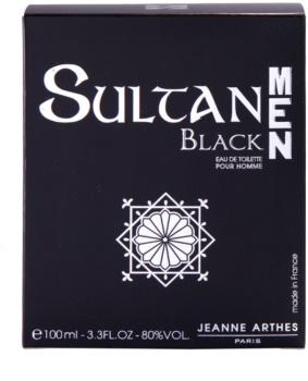 Jeanne Arthes Sultane Men Black Eau de Toilette für Herren 100 ml