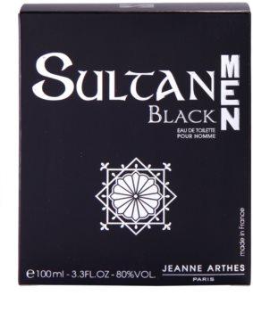 Jeanne Arthes Sultane Men Black toaletná voda pre mužov 100 ml