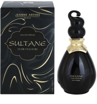 jeanne arthes sultane noir velours