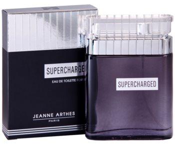 Jeanne Arthes Supercharged eau de toilette férfiaknak 100 ml