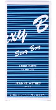 Jeanne Arthes Sexy Boy Eau de Toilette para homens 100 ml