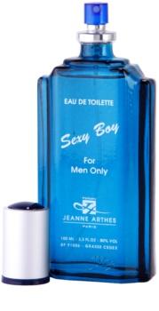 Jeanne Arthes Sexy Boy Eau de Toilette for Men 100 ml