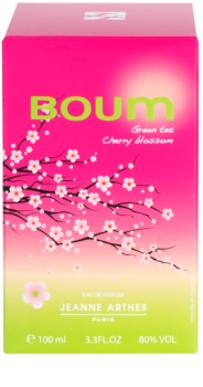 Jeanne Arthes Boum Green Tea Cherry Blossom Eau de Parfum Damen 100 ml